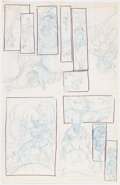 Original Comic Art:Miscellaneous, Rob Liefeld Marvel Comics Presents #53 Preliminary PanelPages Original Art (Marvel, 1990)....