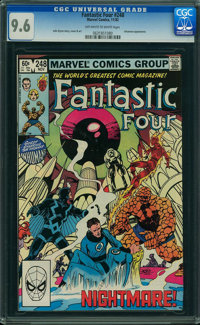 Fantastic Four #248 (Marvel, 1982) CGC NM+ 9.6 OFF-WHITE TO WHITE pages