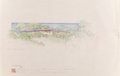 Works on Paper, Frank Lloyd Wright (American, 1867-1959). Drawings and Renderings of the Louis B. Frederick House (forty-three works), c... (Total: 43 Items)