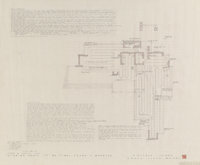 Frank Lloyd Wright (American, 1867-1959) Seven Plans and Renderings for the Usonian House for Frank G. Wheeler