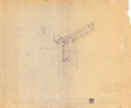 Other, Frank Lloyd Wright (American, 1867-1959). Eight Plans and Renderings for the A.D. Barton House, Downers Grove, Illinois,... (Total: 8 Items)