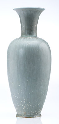 Gunnar Nylund (French, 1904-1997) Vase, circa 1950 Glazed ceramic 12-3/4 inches (32.4 cm) (height