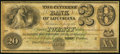 Obsoletes By State:Louisiana, New Orleans, LA- Citizens' Bank of Louisiana $20 18__ Remainder. ...