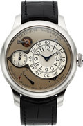 Timepieces:Wristwatch, FP Journe, Very Rare and Fine Chronometre Optimum, Platinum Constant Force Remontoire, Circa 2012. ...