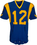 Football Collectibles:Uniforms, 1977 Joe Namath Game Worn Los Angeles Rams Jersey - Photo Matched to His Best Game as a Ram! ...