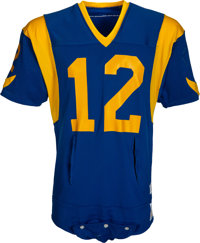3e43cb46b 1977 Joe Namath Game Worn Los Angeles Rams Jersey - Photo Matched to His  Best Game
