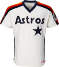 Baseball Collectibles:Uniforms, 1986 Nolan Ryan Game Worn Houston Astros Jersey. ...