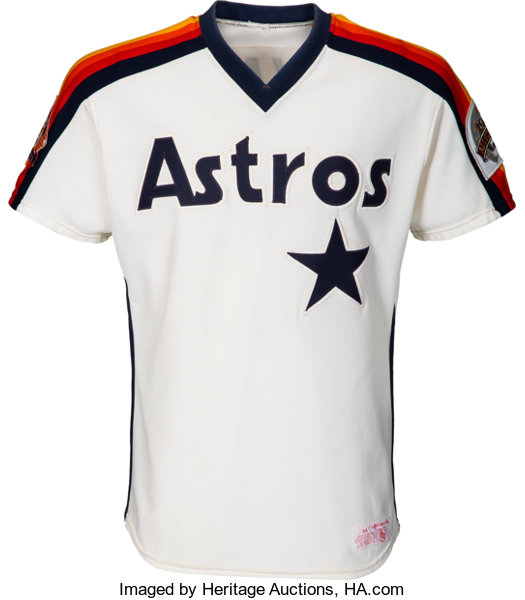 f8c712cb877 1986 Nolan Ryan Game Worn Houston Astros Jersey. ... Baseball