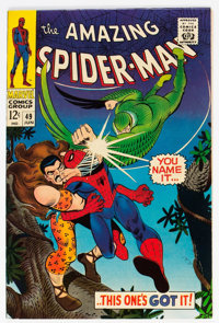 The Amazing Spider-Man #49 (Marvel, 1967) Condition: NM-
