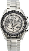 Timepieces:Wristwatch, Omega, N.O.S Apollo XVII 40th Anniversary Limited EditionChronograph, No. 1452/1972. ...