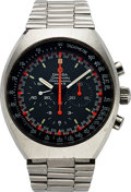 "Timepieces:Wristwatch, Omega, Ref: 145014, Speedmaster Mark II ""Racing"", Circa 1971. ..."