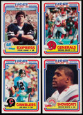 Football Cards:Sets, 1984 Topps USFL Football Complete Set (132)....