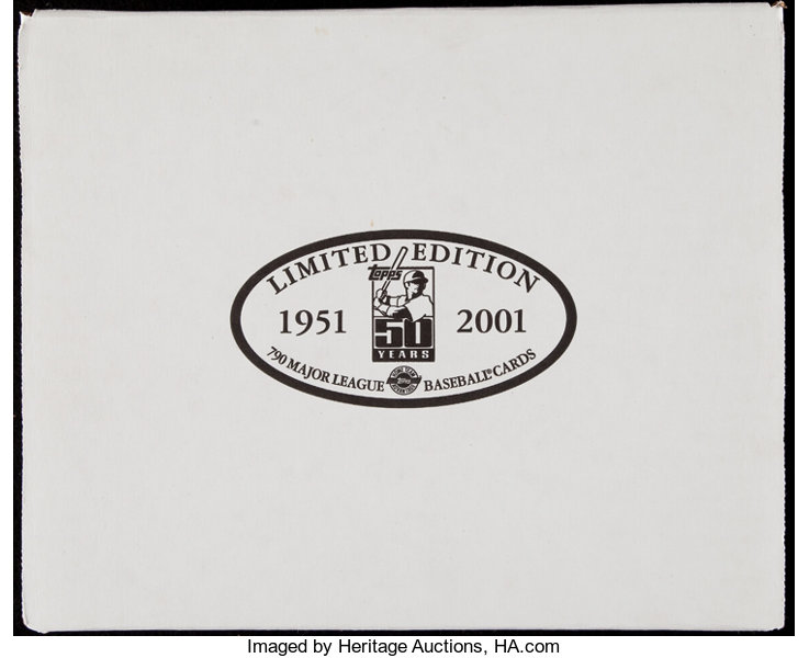 2001 Topps Baseball Limited Edition Complete Set 790