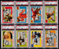 Football Cards:Sets, 1955 Topps All-American Partial Set (49). ...