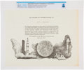 Explorers:Space Exploration, Apollo Lunar Science Community Award of Appreciation to Neil Armstrong Directly From The Armstrong Family Collection™, Cer...