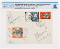 Explorers:Space Exploration, Soviet Union 1970 Visit: Neil Armstrong (and Others) Signed COSPAR XIII Conference Cover Directly From The Armstrong Family Co...