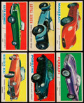 """Non-Sport Cards:Sets, 1961 Topps """"Sports Cars"""" Near Set (61/66). ..."""
