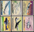 """Non-Sport Cards:Lots, 1952 Topps """"Wings"""" Collection (57)...."""