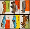"Non-Sport Cards:Lots, 1954-55 Topps ""World On Wheels"" Collection (80)...."