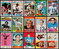 Football Cards:Lots, 1955-1991 Football Collection (300) With Stars & HoFers....