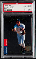 Baseball Cards:Singles (1970-Now), 1993 SP Derek Jeter #279 PSA NM-MT 8....