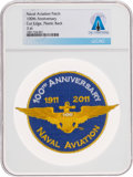 Explorers:Space Exploration, U.S. Navy 100th Anniversary of Naval Aviation Patch, Directly From The Armstrong Family Collection™, Certified and Encapsulate...
