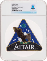NASA Altair AB Emblem Lunar Surface Access Module (LSAM) Patch, Directly From The Armstrong Family Collection™, Certifie...