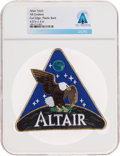 Explorers:Space Exploration, NASA Altair AB Emblem Lunar Surface Access Module (LSAM) Patch, Directly From The Armstrong Family Collection™, Certified and ...