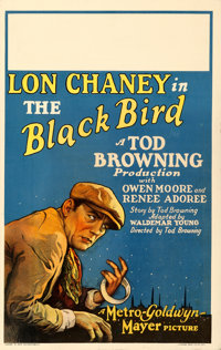 "The Black Bird (MGM, 1926). Window Card (14"" X 22"")"