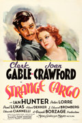 "Movie Posters:Drama, Strange Cargo (MGM, 1940). One Sheet (27.5"" X 41"") Style C, ArmandoSeguso Artwork.. ..."