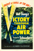 Movie Posters:War, Victory Through Air Power (United Artists, 1943). ...