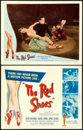 """Movie Posters:Fantasy, The Red Shoes (Eagle Lion, 1948). Title Lobby Card & Lobby Card(11"""" X 14"""").. ... (Total: 2 Items)"""