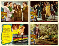 Movie Posters:Fantasy, Stairway to Heaven (Universal International, 1946) a.k.a. A Matter of Life and Death. Title Lobby Card & Lobby Cards (3) (11... (Total: 4 Items)