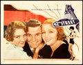 """Movie Posters:Musical, 42nd Street (Warner Brothers, 1933). Lobby Card (11"""" X 14"""").Musical.. ..."""