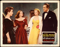 "Movie Posters:Academy Award Winners, All About Eve (20th Century Fox, 1950). Fine/Very Fine. Lobby Card (11"" X 14""). Academy Award Winners.. ..."