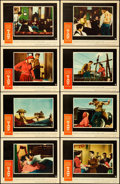 "Movie Posters:Drama, Giant (Warner Brothers, 1956). Lobby Card Set of 8 (11"" X 14"")..... (Total: 8 Items)"