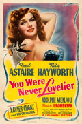 "Movie Posters:Musical, You Were Never Lovelier (Columbia, 1942). One Sheet (27"" X 41"")Style B.. ..."