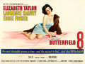 "Movie Posters:Drama, Butterfield 8 (MGM, 1960). British Quad (30"" X 40"").. ..."