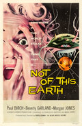 """Movie Posters:Science Fiction, Not of This Earth (Allied Artists, 1957). One Sheet (27"""" X 41"""").. ..."""