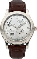 Timepieces:Wristwatch, Jaeger-LeCoultre, Master Control 8-Day Big Date, Platinum, Limited Edition No. 155/200, Ref. 146.6.17, Circa 2005. ...