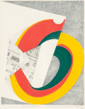 Prints & Multiples, Kazumi Amano (1927-2001). Presentation, 1972. Lithograph in colors on paper. 11-1/4 x 8-7/8 inches (28.6 x 22.5 cm) (sig...