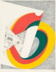 Kazumi Amano (1927-2001) Presentation, 1972 Lithograph in colors on paper 11-1/4 x 8-7/8 inches (28.6 x 22.5 cm) (sig