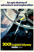 "Movie Posters:Science Fiction, 2001: A Space Odyssey (MGM, 1968). Cinerama One Sheet (27"" X 41"") Style A, Robert McCall Artwork.. ..."
