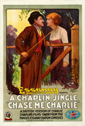 """Movie Posters:Musical, Chase Me Charlie (Essanay, 1918). One Sheet (28"""" X..."""