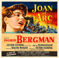 "Movie Posters:Drama, Joan of Arc (RKO, 1948). Six Sheet (80"" X 80"").. ..."