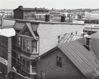 George A. Tice (American, b. 1938) Rooftops, Paterson, New Jersey, 1969 Gelatin silver, 1
