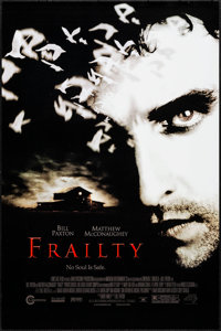 "Frailty & Others Lot (Lions Gate, 2002). Rolled, Very Fine+. One Sheets (8) (27"" X 40"" & 27"" X 41..."