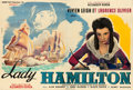 "Movie Posters:Drama, That Hamilton Woman (London Film, 1945). First Post-War ReleaseHorizontal French Double Grande (62"" X 92"") R. Mérigeau Artw..."