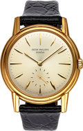 Timepieces:Wristwatch, Patek Philippe, Very Fine Ref: 3444J, 35mm, Self-Winding, Circa 1961. ...