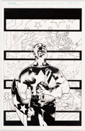 Original Comic Art:Illustrations, Tony Harris and Ray Snyder - Captain America Illustration(2001)....